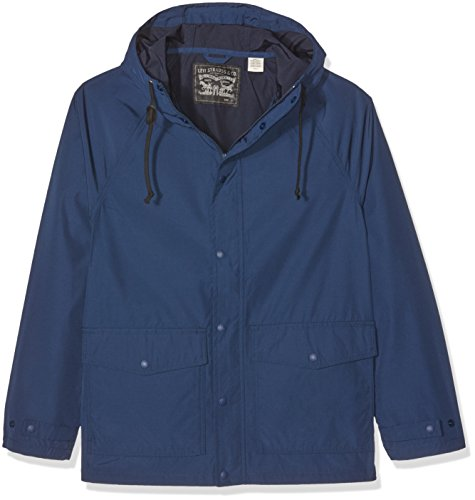 Levi's Herren Jacke Light Weight Sutro Parka Dress Blues, Blau (Dress Blues 0000), - Männer Wintermäntel Levis Für