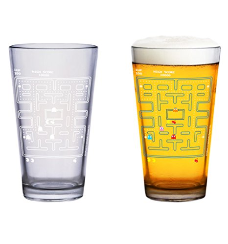 Pac-Man – Farbwechsel-Glas