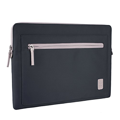 13 Zoll Laptop Notebook Hülle Sleeve Tasche, EKOOS Aktentasche für 13 Zoll New MacBook Pro Touch Bar 2017 2016, New Surface Pro (12.3 Zoll) / Pro 4, Einfache Stil Wasserdichte und Leichte Nylon Stoff Schutzhülle (13