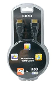 ORB Multiformat HDMI Cable (PC/PS3)