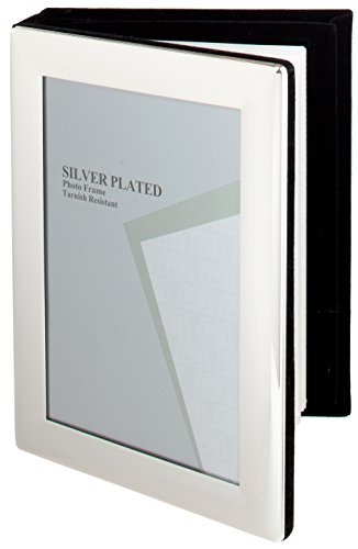 Maturi Photo Frame, Versilbert, Silber, 10 x 15 cm