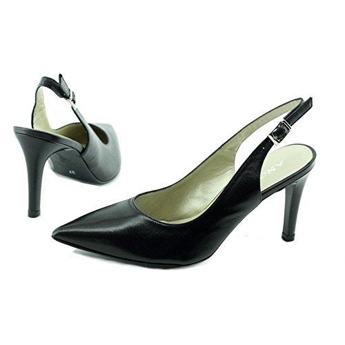 Angelina® Nines Escarpins Noir Pointu - Petites & Grandes Pointures C-Noir