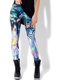 crazycatz - Legging -  - Imprimé animal Femme taille unique