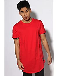 Sixth June Homme T-Shirt Curved Hem Logo, Beige