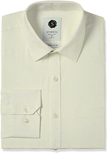 Symbol Men's Formal Premium Dobby Slim Fit Shirt