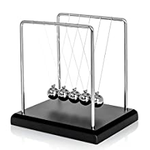 JRose Collections Classic Newton Cradle Balance Balls Science Psychology Puzzle Desk Toy
