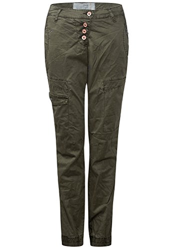 Cecil donna crash-Pantaloni New York Oliv (deep_olive) 33W x 30L