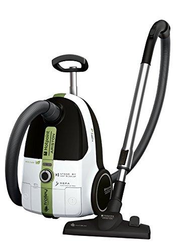 Hotpoint SL B07Blurr Cylinder Vacuum Cleaner 3.5L 700W weiß Staubsauger Bodenstaubsauger (Cylinder Vacuum, A, trocken, Haus, Teppich, Hard floor, B)