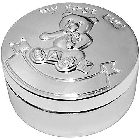 caja de dientes, dientes FGF cajas de recuerdo circular con Winnie the Pooh Modelo No. RKS-TB003