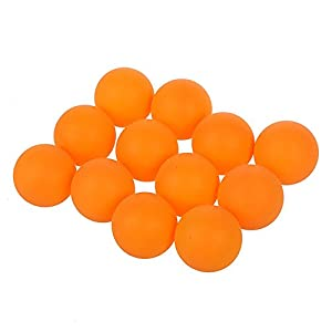 Tischtennisbaelle - SODIAL(R)Sport Kunststoff orange Tischtennis...