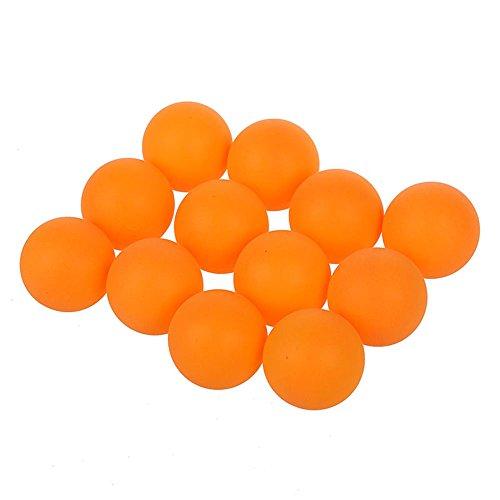 Tischtennisbaelle - SODIAL(R)Sport Kunststoff orange Tischtennis Tischtennisbaelle 40mm Durchmesser 12 Stueck