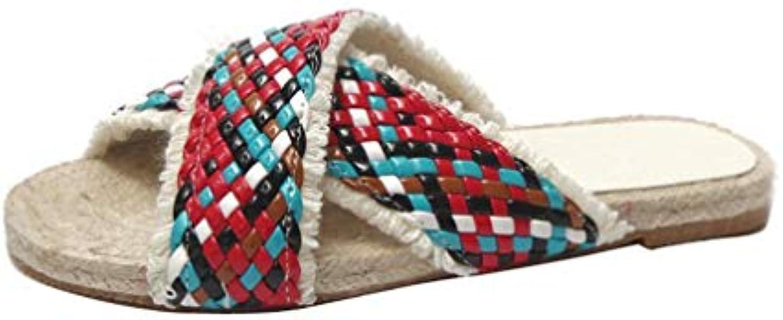 Hommes femmes YUCH Pantoufles Plates pour FemmesB07H7QX9CVParent Queensland Laissez nos nos Laissez produits aller au monde Nouveau design diversifié 9ff688