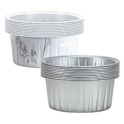 Hanna K. Signature 15000 Round Aluminum Baking Pans, 2 1/2