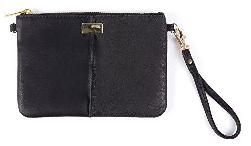 Gifting Handtasche Clutch Bag mit Integriertem 2400mAh Ladegerät - Schwarz