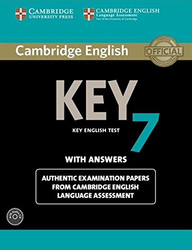 Cambridge English Key 7 Student's Book Pack (Student's Book with Answers and Audio CD)...