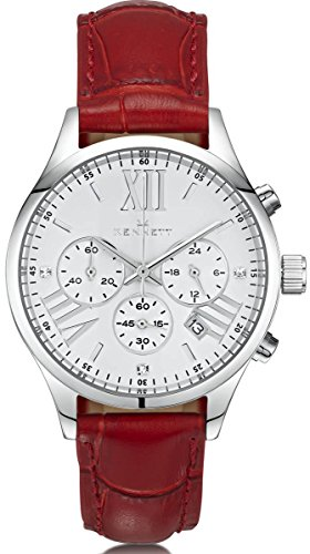 Ladies Kennett Lady Savro Empire Chronograph Watch LSESILWHBK