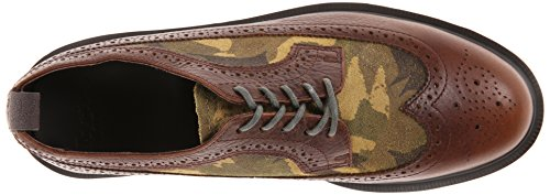 Dr. Martens 3989 Suede, Scarpe basse, Unisex - adulto Dark Brown/Green