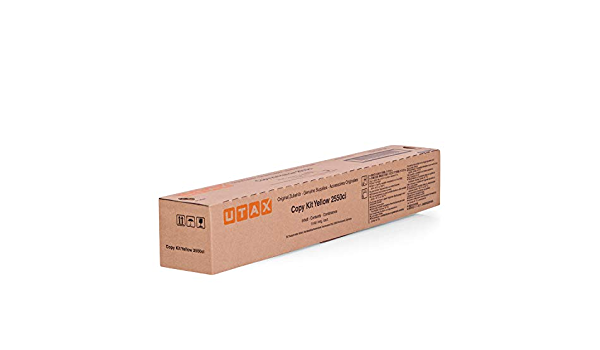 Utax Original Toner Passend Für Triumph Adler 2550 Ci 662510016 Premium Drucker Kartusche Gelb 6000 Seiten Bürobedarf Schreibwaren
