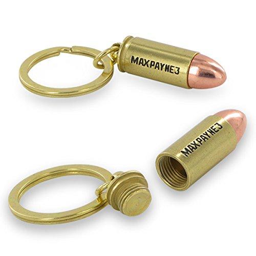 Preisvergleich Produktbild (Limited Edition) Max Payne 3 - Bullet - Keychain - Schlüsselanhänger