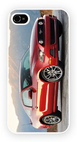 Price comparison product image Ford Mustang V Red iPhone 6 case,  Freshly printed snap on case - mid gloss