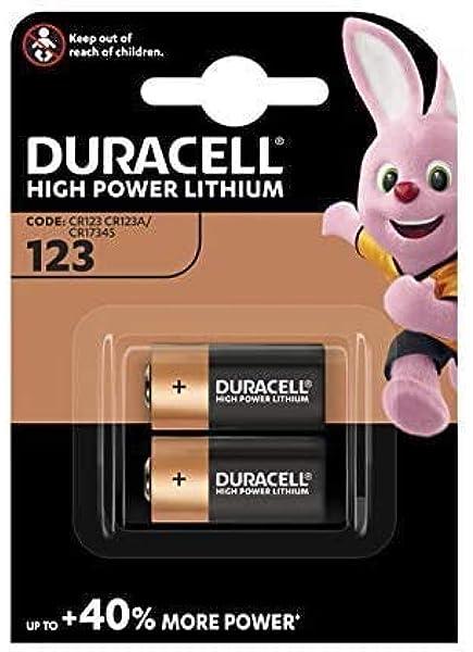 Duracell Dl123a Ultra Lithium 123 Batterie Schwarz Elektronik