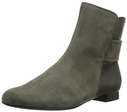 Hassia Fermo Weite G Damen Kurzschaft Stiefel Grau (6063 grey/graphit)