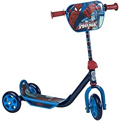 ColorBaby - Patinete 3 ruedas, Spiderman (42790)