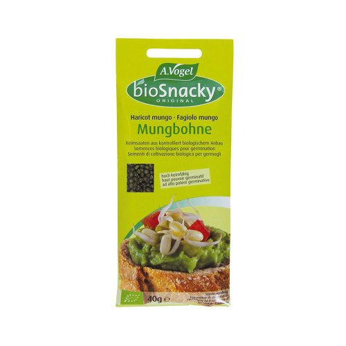 BIOSNACKY Sprossensamen Mungbohnen 40 g