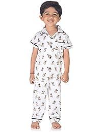 nite flite Boys' Bulldog Pyjama Set