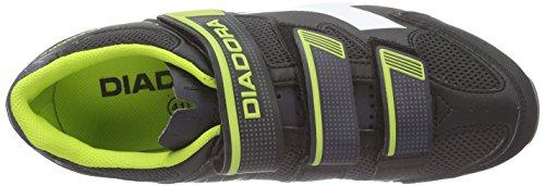 Diadora X Trivex Ii, Chaussures de Vtt Mixte Adulte noir (black/lime punch5808)
