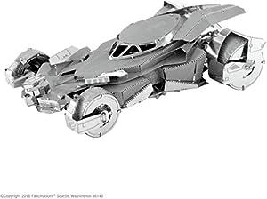 Metal Earth-5061375-Maqueta 3D-Batman Vs Superman-Batmobile-2Piezas