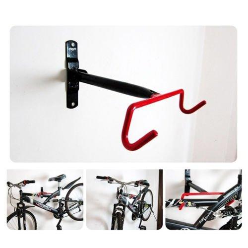 Elegantstunning porta bici supporto da parete garage bicicletta deposito mensola del gancio interni salvaspazio