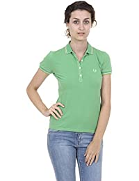 Fred Perry Fred Perry Womens Polo 31162236 0033 VERDE