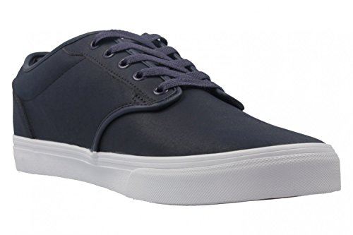 Vans Mn Atwood, Sneakers Basses Homme Blau (Leather)