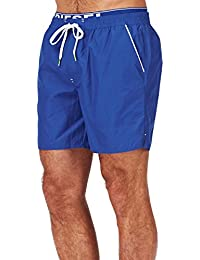 Diesel - - Homme - Short de bain double ceinture bleu Dolphin pour homme