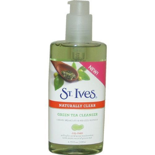 naturally-clear-green-tea-cleanser-for-unisex-by-stives-675-ounce-by-st-ives-english-manual