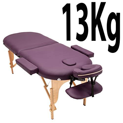 Massage Imperial® - tragbare Profi-Massageliege Orvis - leicht - 2-teilig - Violett - Cranio-sacral-massage