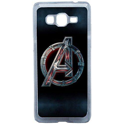 Aux Prix Canons - Etui Housse Coque Logo Avenger Comic Marvel Samsung Grand Prime, Coques iphones