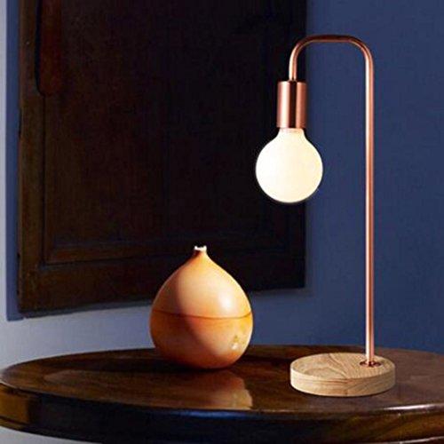 Wohnzimmer Spiegelschrank (JAYLONG Moderne einfache Persönlichkeit Stehlampe, Nordic Design Büro Schlafzimmer Wohnzimmer vertikale Eisen Stehlampe (Farbe: Bronze / Schwarz) , Table Lamp-Copper)