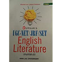 UGC/NET/JRF/SET English Literature (Paper-II And III)