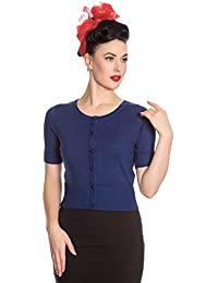 Hell Bunny Wendi 50s Style Manche Courte Cardigan Court