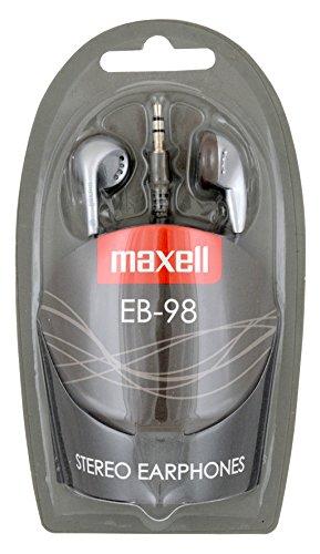 Maxell 303456 Kopfhörer EB-98 3,5 mm Klinke Silber Maxell Mp3-player