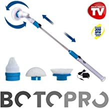 BOTOPRO - Cepillo eléctrico inalámbrico Hurricane Spin Scrubber