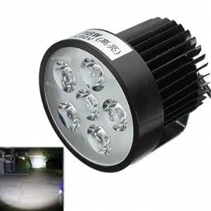 12v 18w moto LED feu de brouillard spot de conduite phares