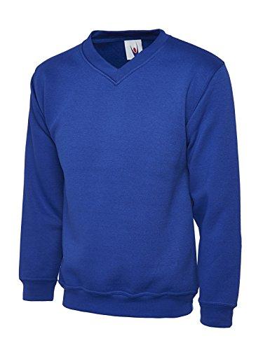 Uneek clothing -  Felpa con cappuccio  - Uomo Royal