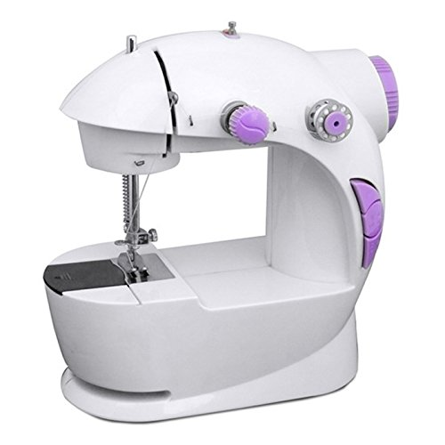 Anva 4 In 1 compact Mini Sewing Machine with foot pedal bobbin and adapter