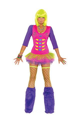 Hot Spot Damen Kleid Schwarz Schwarz Gr. X-Large, Mehrfarbig - Multicolore - Neon
