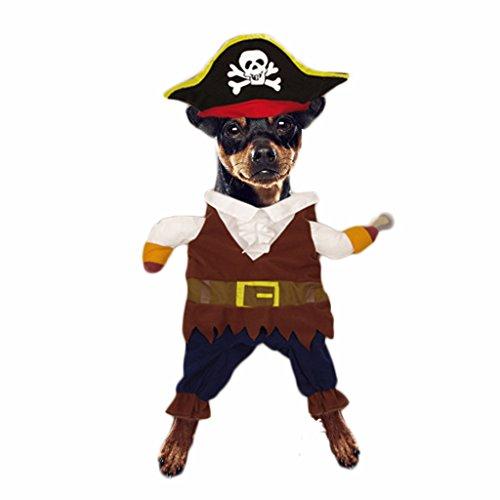 Haustier Hund Katze Piraten-Kostüm Weihnachten Festival Geschenk Mantle
