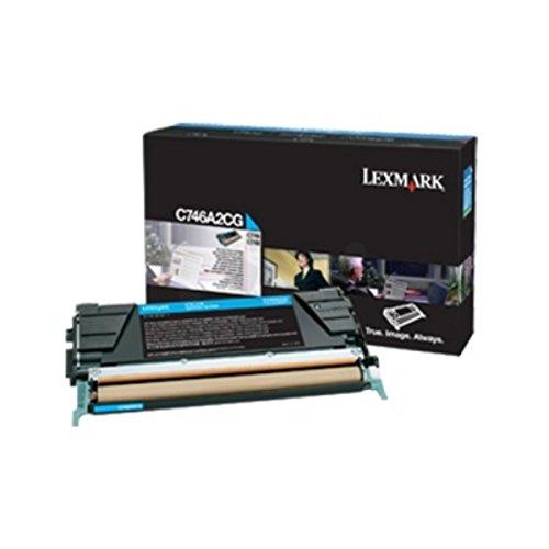 Preisvergleich Produktbild Lexmark C746A3CG Tintenpatrone für C746/C748 cyan