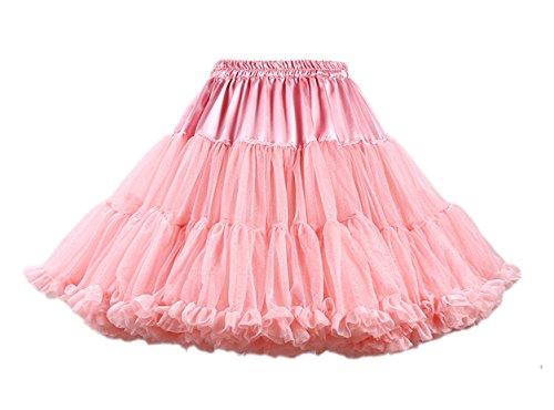 dchen Kinder Tanzen Ballett Tutu Rock Ballett Pettiskirt Prinzessin Tanz Röckchen Tutu Kostüme Hell Koralle One Size (Adult Cosplay Pics)